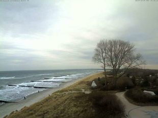 Webcam with view of the Baltic Sea